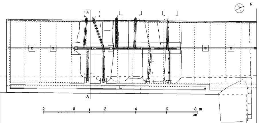 Projection of the designed preservation, drawing by A. Brzozowska
